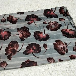 Scarf- floral infinity